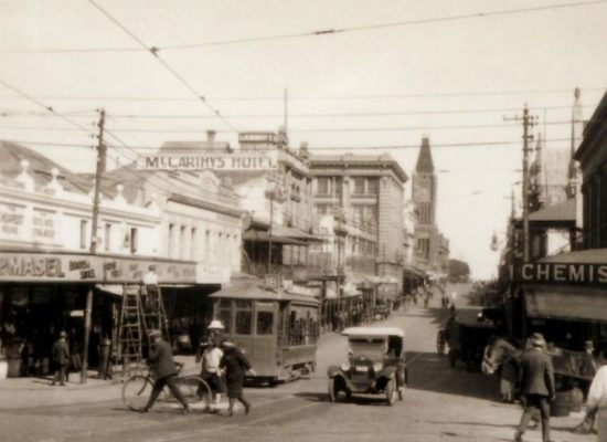 Perth: Trams Then and Now